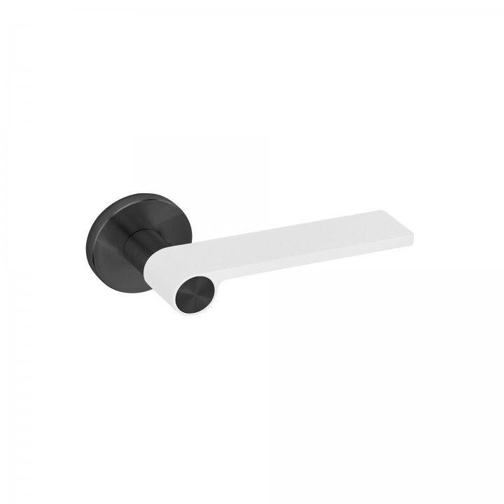 Manilla de puerta Outline White - Titanium Black