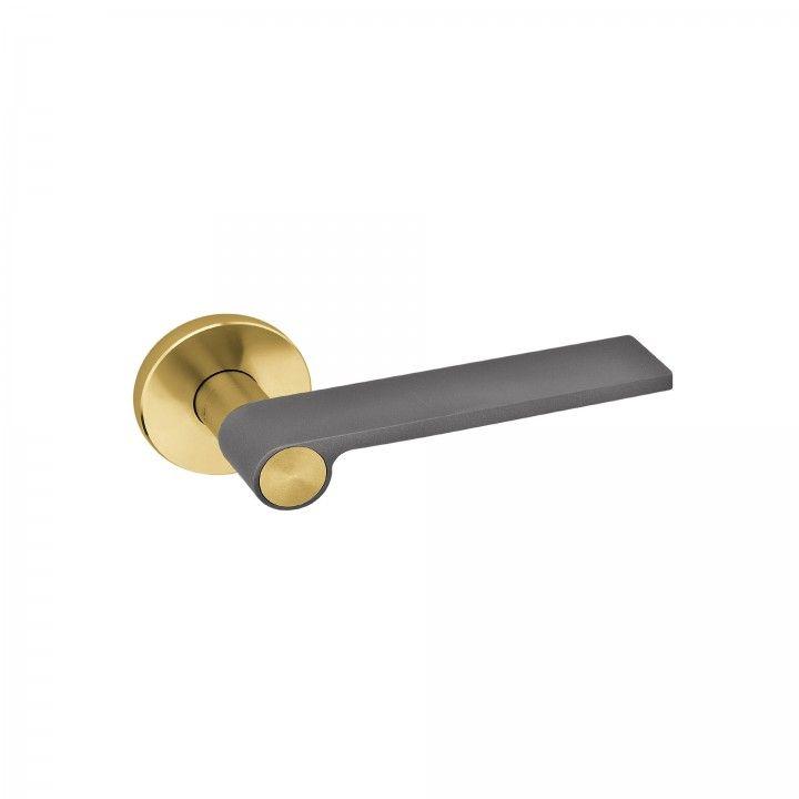 "Puxador de porta ""Outline Jet"" - Titanium Gold"