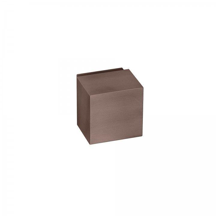 """Puxador fixo """"Quadro"""" - Titanium Chocolate"""