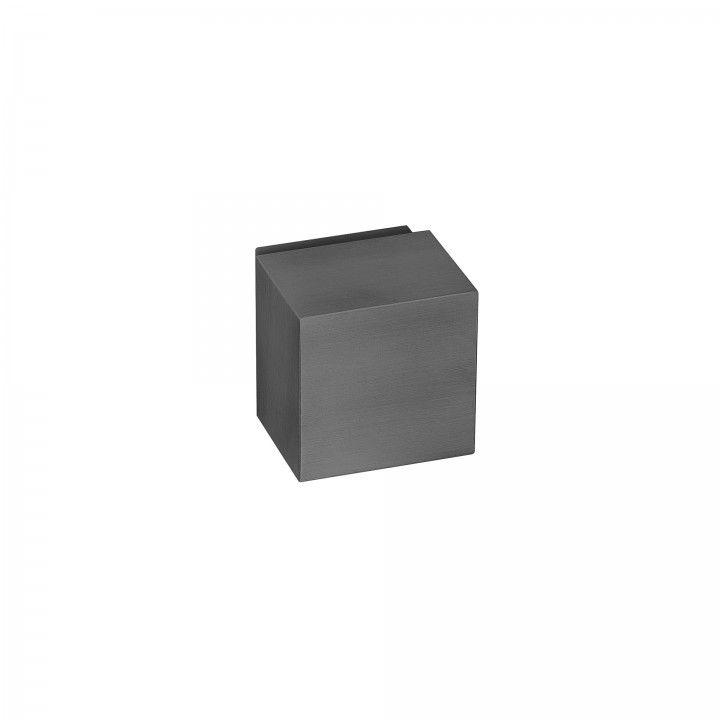 Turning knob Quadro - Titanium Black
