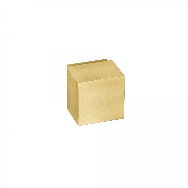 Turning knob Quadro - Titanium Gold