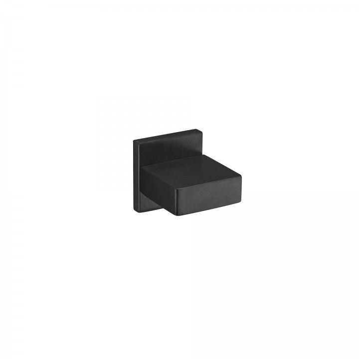 Pomo fijo Quadro - Titanium Black