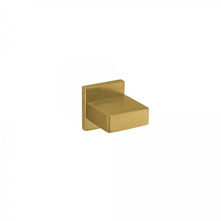 """Puxador fixo """"Quadro"""" - Titanium Gold"""