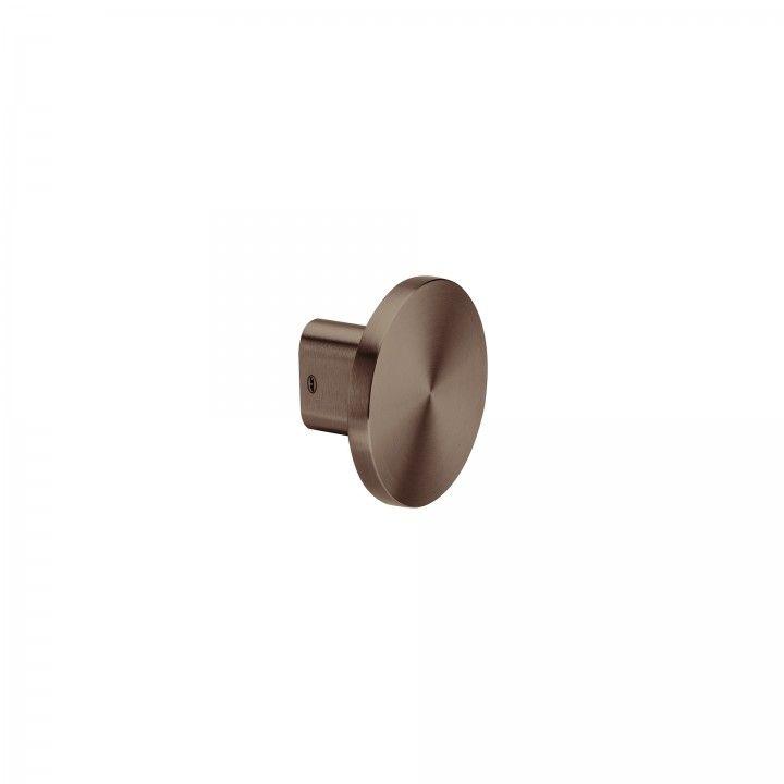 Fixed knob - Ø100mm - Titanium Chocolate