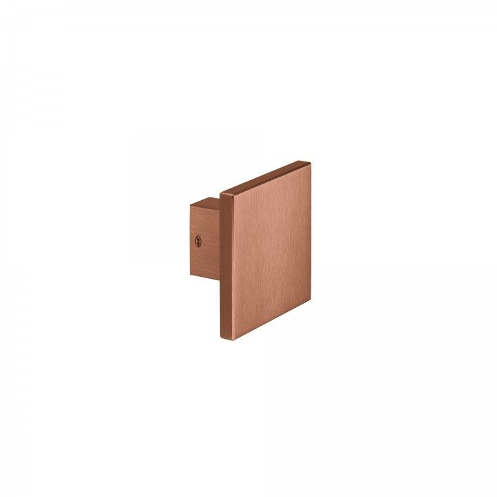 Pomo fijo - 100x100mm - Titanium Copper