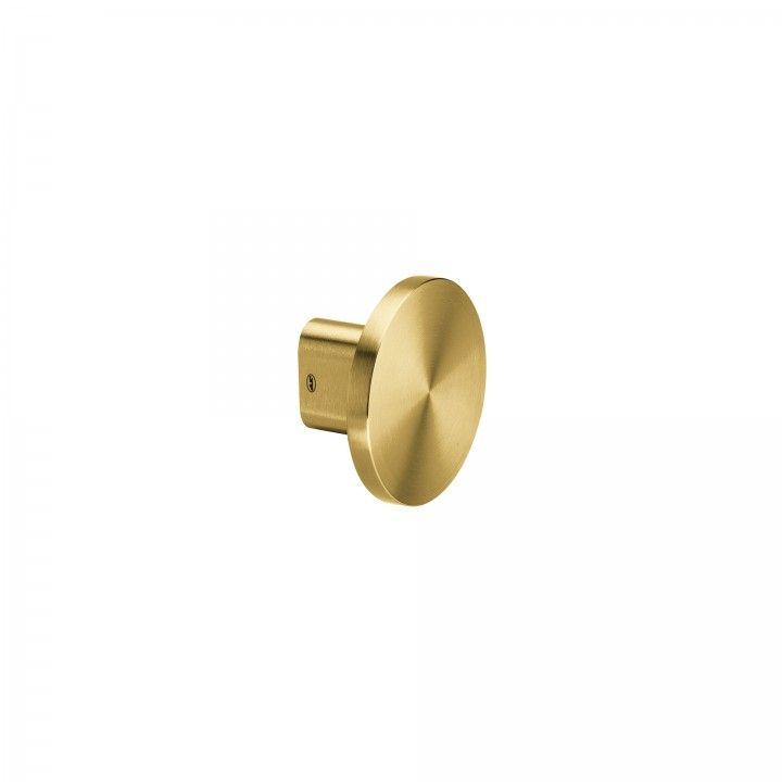 Fixed knob - Ø100mm - Titanium Gold
