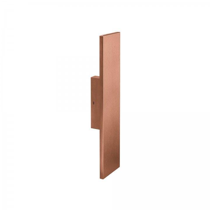 Puxador de porta fixo - 100x400mm - Titanium Copper