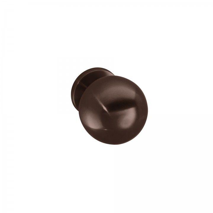 Puxador de porta fixo - Ø65mm - Titanium Chocolate