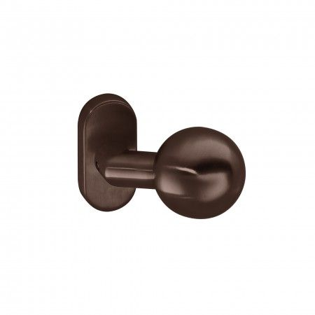 Door knob - Titanium Chocolate
