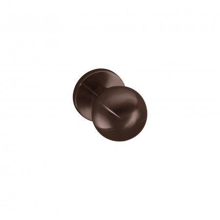 Puxador de porta fixo - Ø50mm - Titanium Chocolate