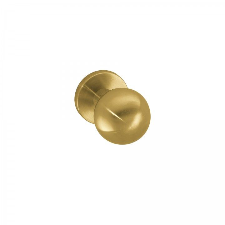 Fixed door knob - Ø50mm - Titanium Gold