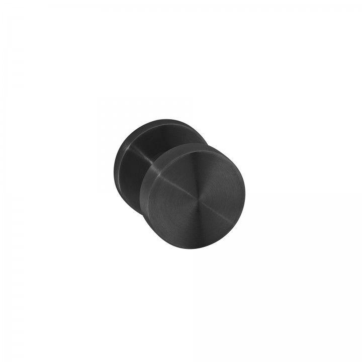 Puxador de porta fixo - Ø50mm - Titanium Black