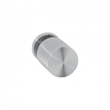 Door knob - Ø50mm, with Nylon base rose R07N