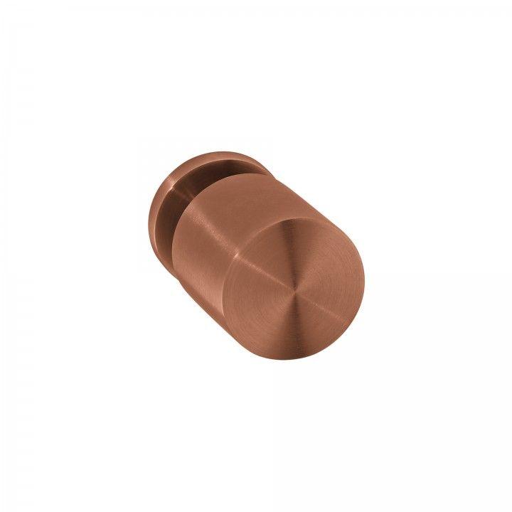 Puxador de porta fixo - Ø50mm - Titanium Copper