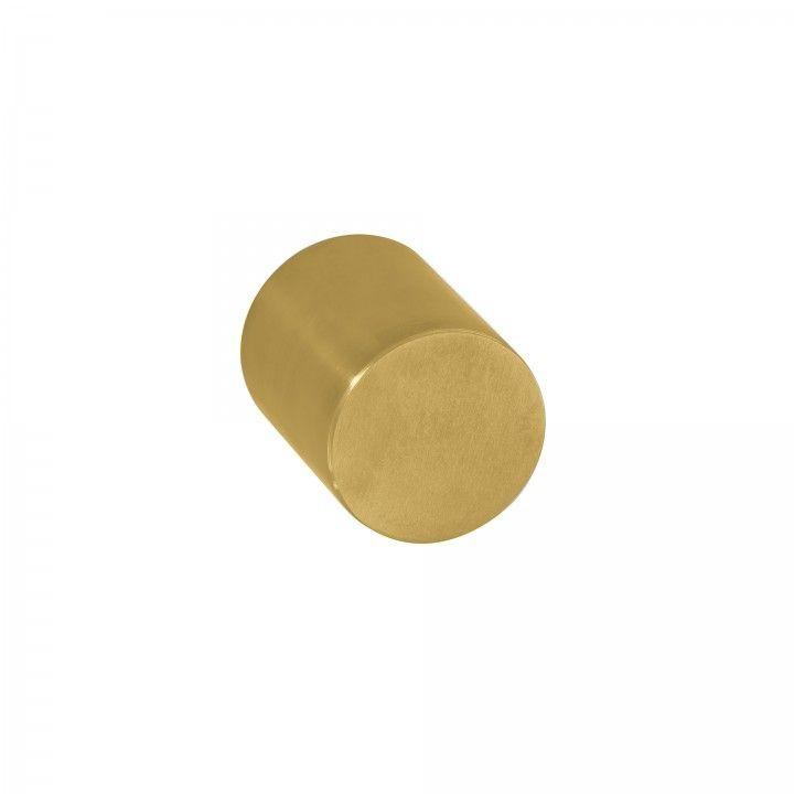 Fixed door knob - Ø50mm - Titanium Gold