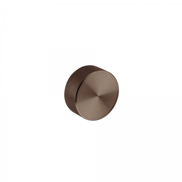 Fixed knob - Titanium Chocolate
