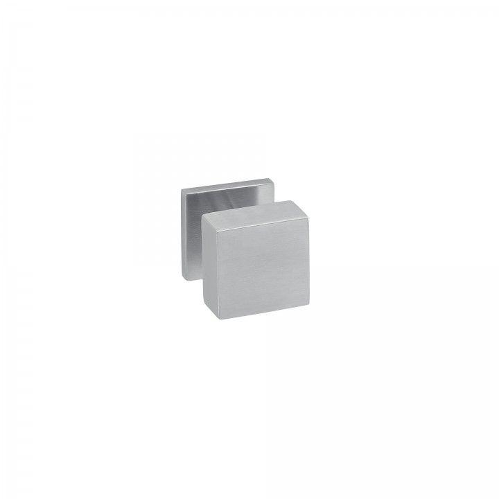 """Puxador de porta fixo """"Quadro"""" - 50x50mm"""