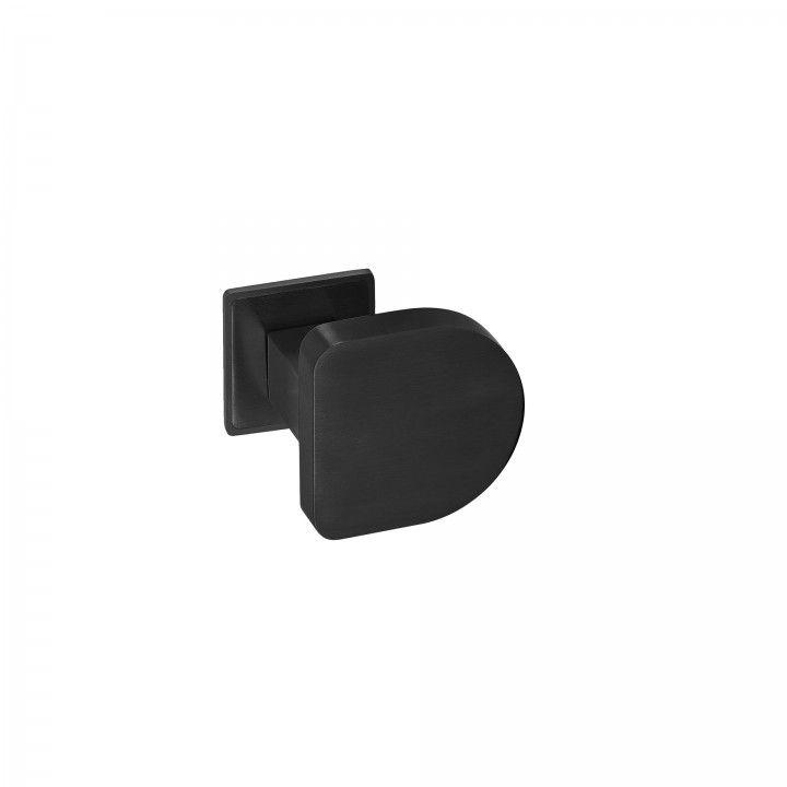 Puxador de porta fixo - Titanium Black