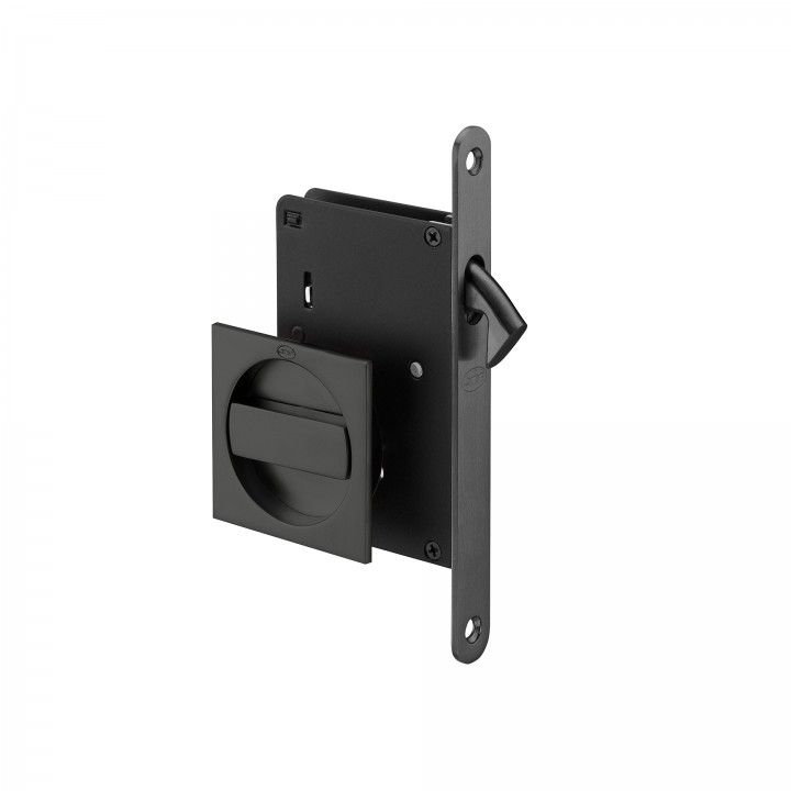 Mortise door lock for sliding doors - Black Anthracite
