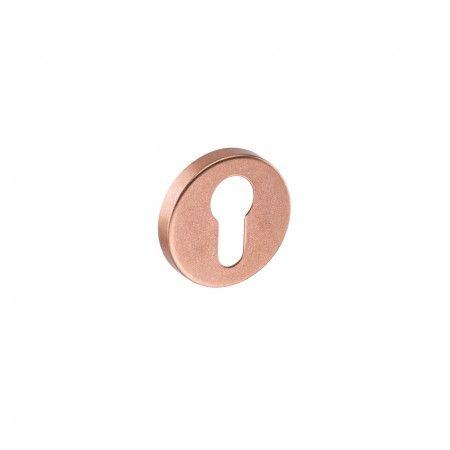European cylinder key hole with metallic base Times - Ø50mm