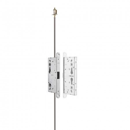 Fire proof strike lock With vertical rods Works with IN20960 Compatible with lock IN20960