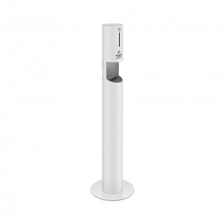 Automatic liquid soap dispenser - WHITE