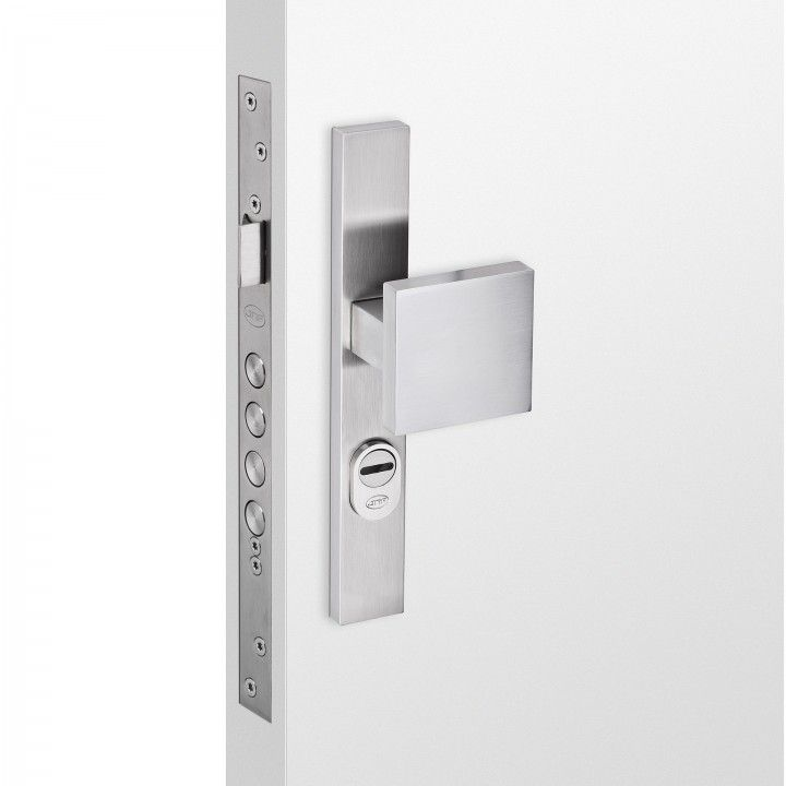 Safety plate with cylinder protection- 250 x 36mm