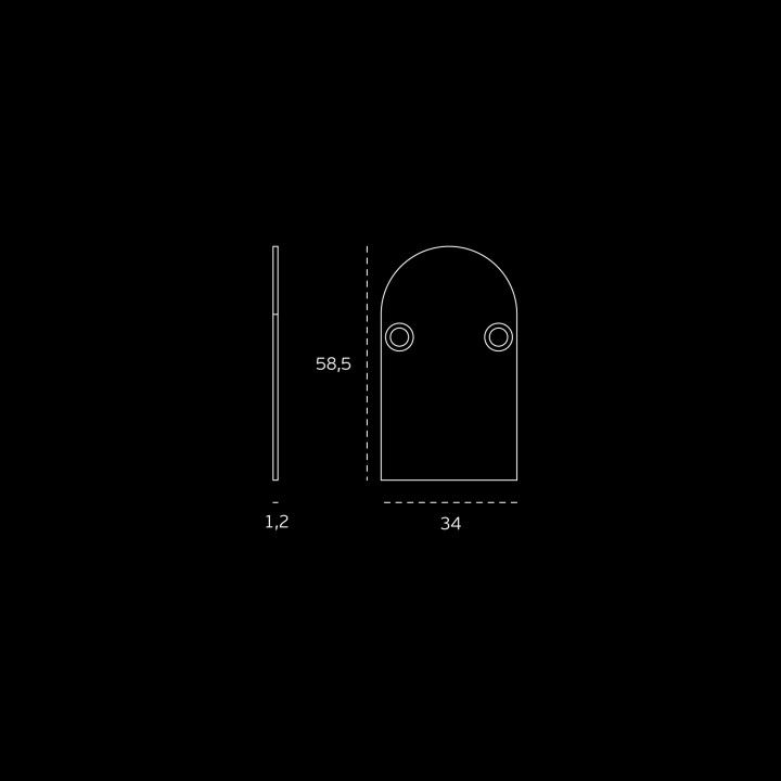 Decorative stainless steel covers - Titanium Black