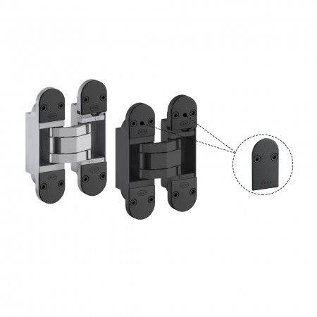Cubiertas decorativas en acero inoxidable - Titanium Black