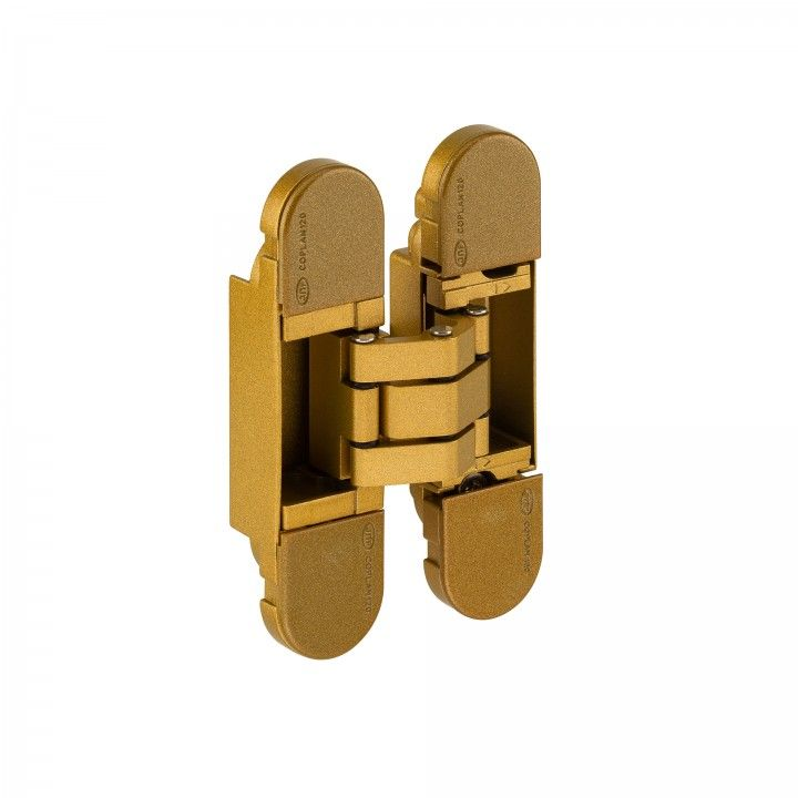 "3D Ajustable invisible hinge ""GOLD """