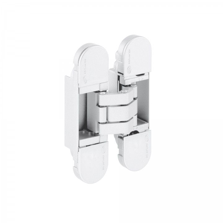 """3D Ajustable invisible hinge """"WHITE"""""""