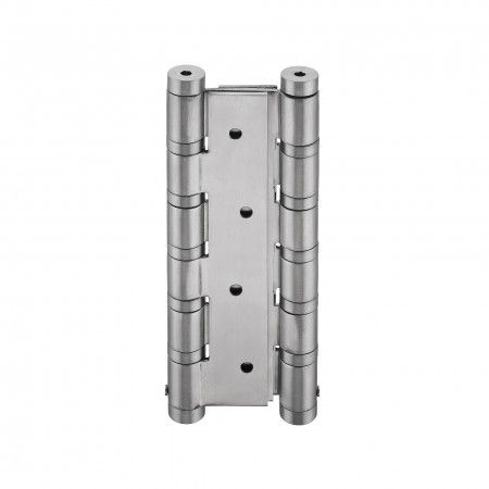 Doble action spring hinge