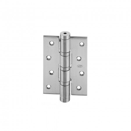 Spring hinge with 3 ball bearings - 78 x 120 x 3mm