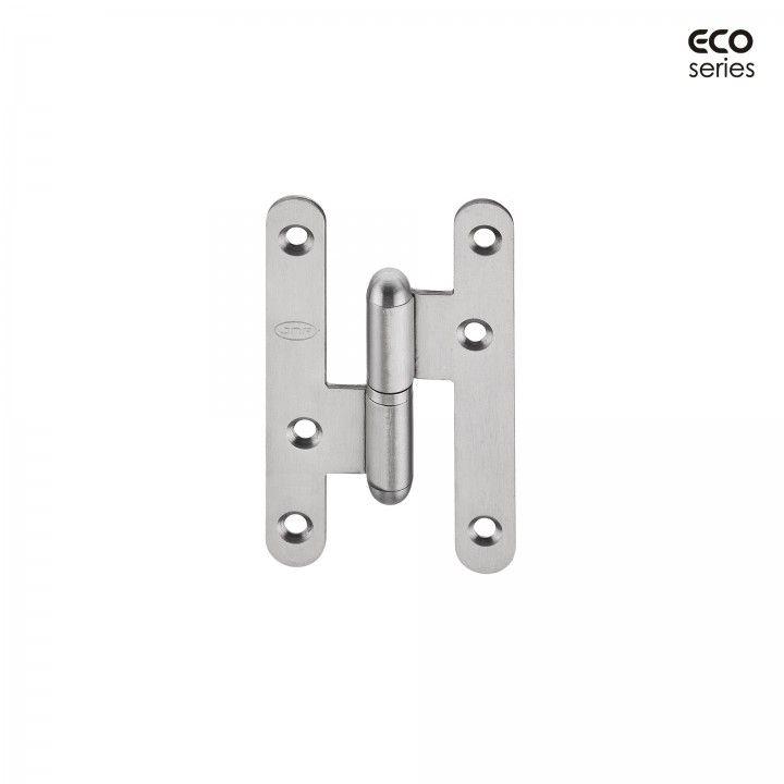 Dobradiça com cantos redondos - Eco series - 59 x 100 x 2mm