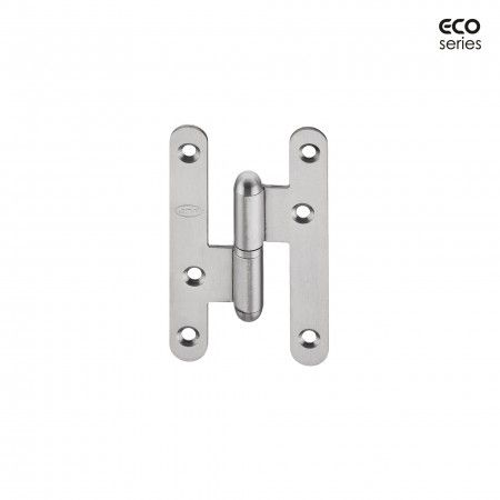 Hinge with round corners - Eco series - 59 x 100 x 2mm