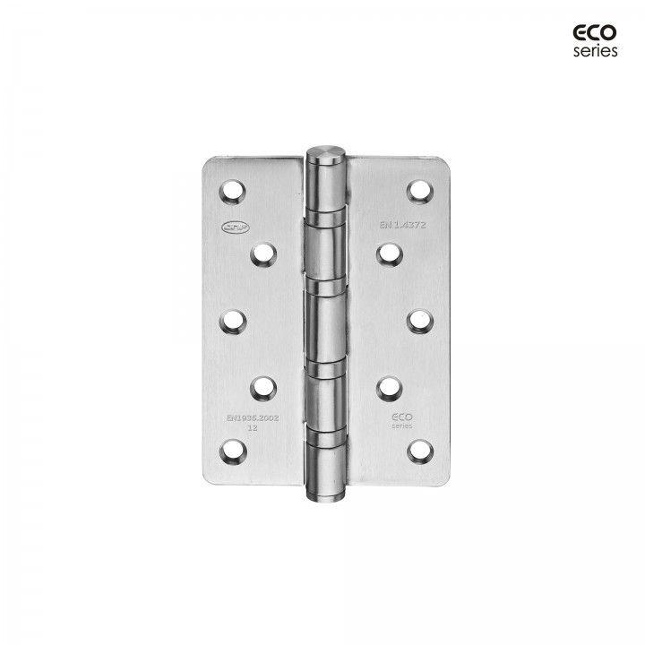 Dobradiça segurança de eixo amovível com 4 rolamentos de esfera Eco series 90 x 125 x 3mm