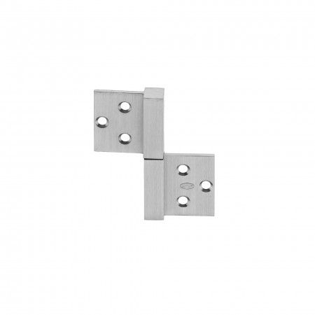 Hinge with ball bearings - 84 x 100 x 3mm