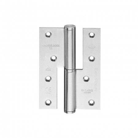 Lift off hinge - Fire proof - 86 x 120 x 3mm