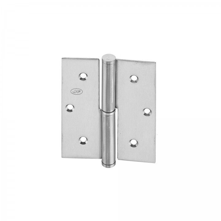 Building hinge - 82 x 100 x 2,5mm - RIGHT