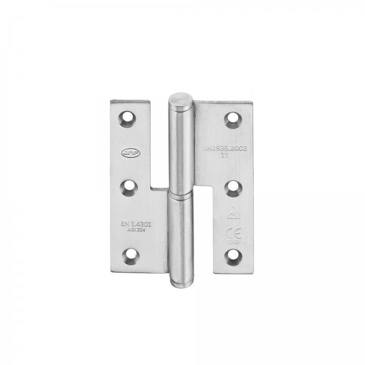 Lift off hinge - Fire proof - 70 x 90 x 2,5mm