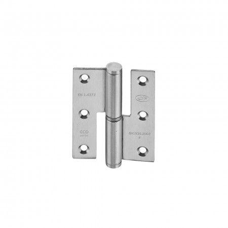 Lift off hinge - Eco series - 60 x 75 x 2,5mm