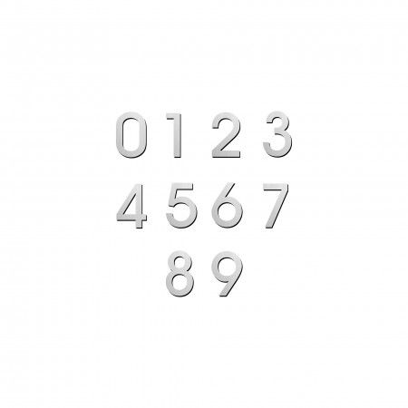 Number  with 150mm, concealed fixing through strong adhesive