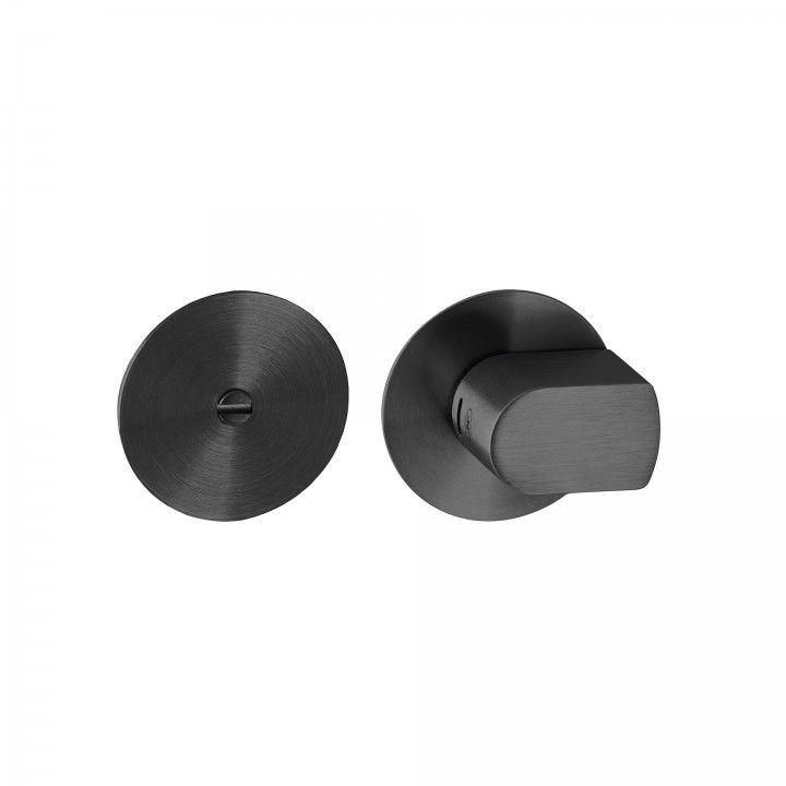 Fecho de casa de banho - Titanium Black