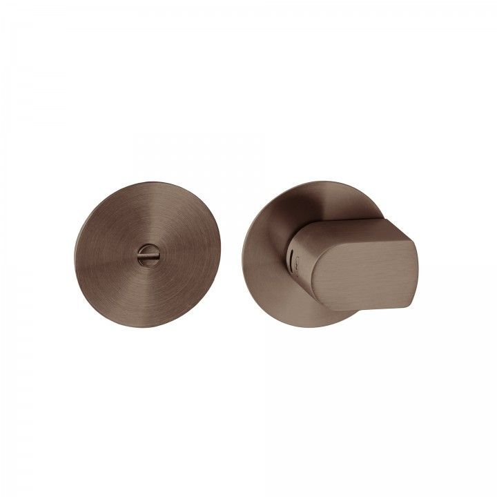 Fecho de casa de banho - Titanium Chocolate