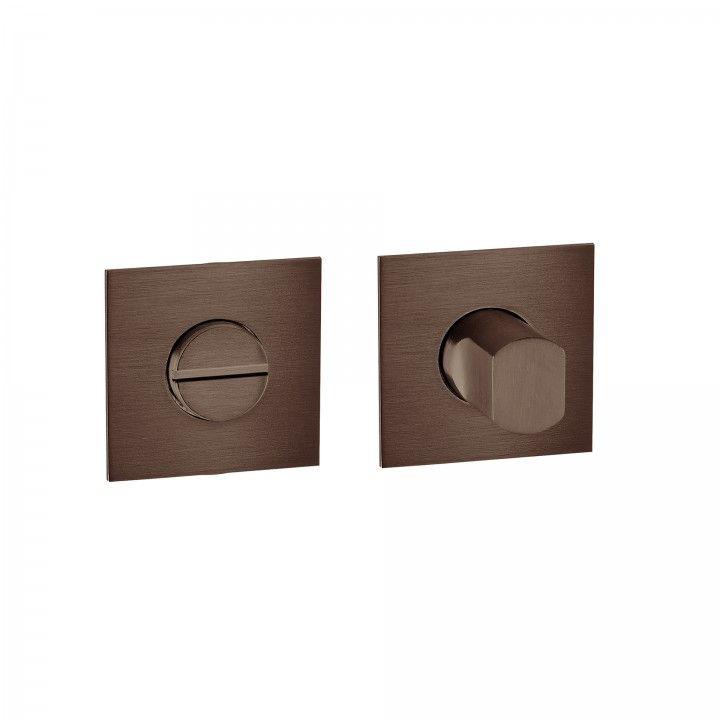 Fecho de casa de banho 'Less is More 2' - Titanium Chocolate