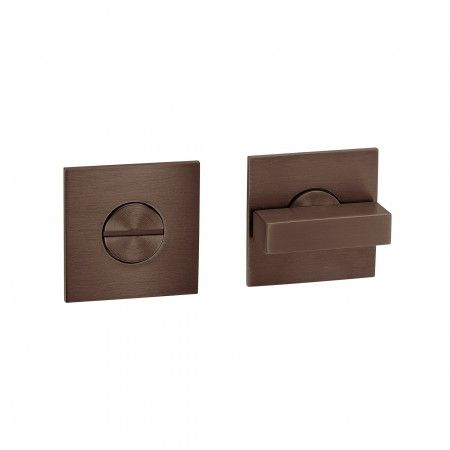 Bathroom snib Less is more - Titanium Chocolate