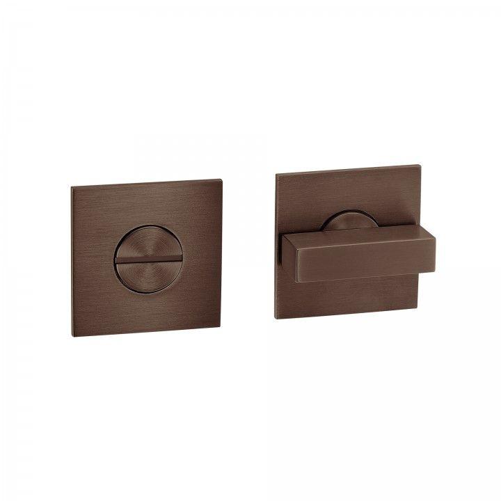 """Fecho casa de banho """"Less is more"""" -  Titanium Chocolate"""