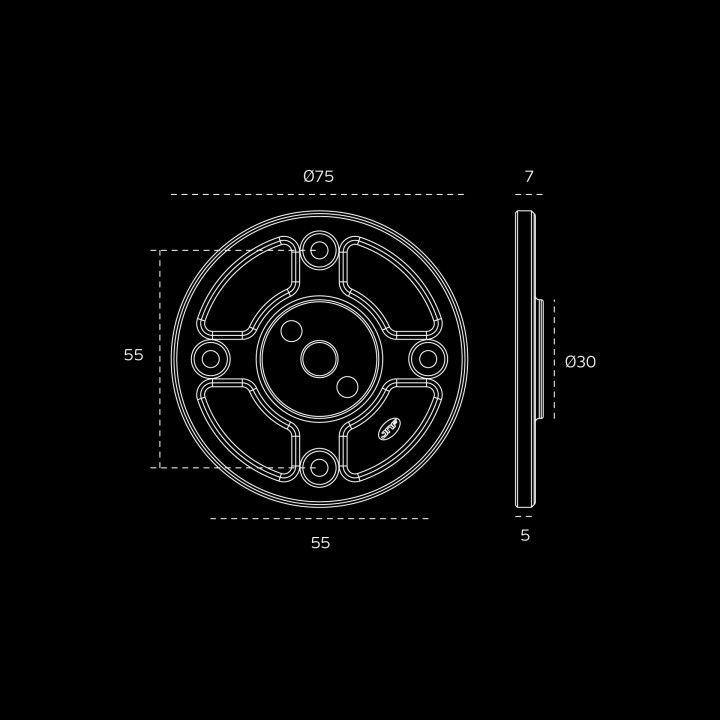 Base (Raw +Titanium Black)