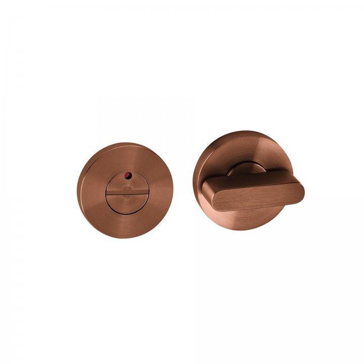 Bathroom snib - Titanium Copper