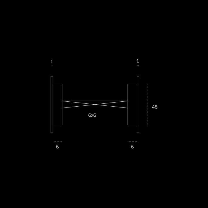 Fecho de casa de banho de embutir sem indicador de cor